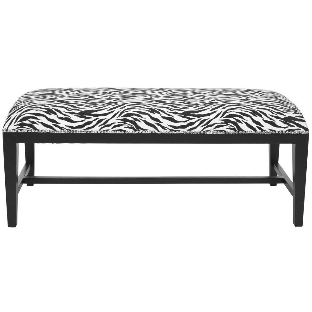 Zambia Zebra Bench