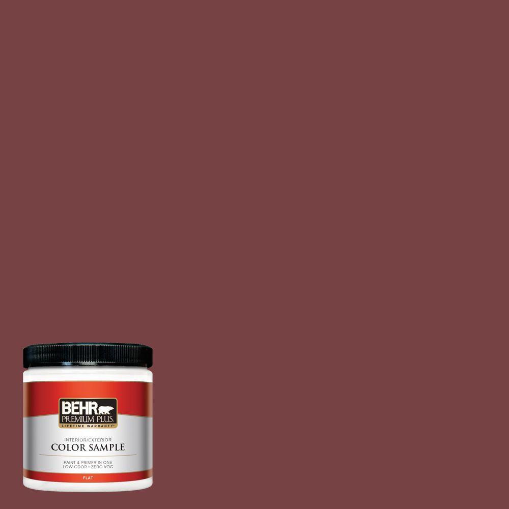 BEHR Premium Plus 8 oz. #150F-7 Burnt Tile Interior/Exterior Paint Sample