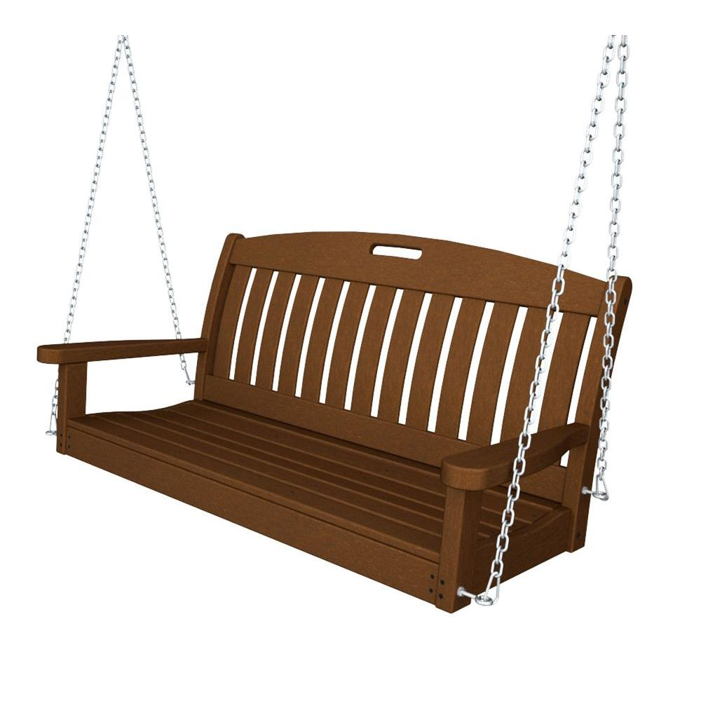 Teak Patio Swing
