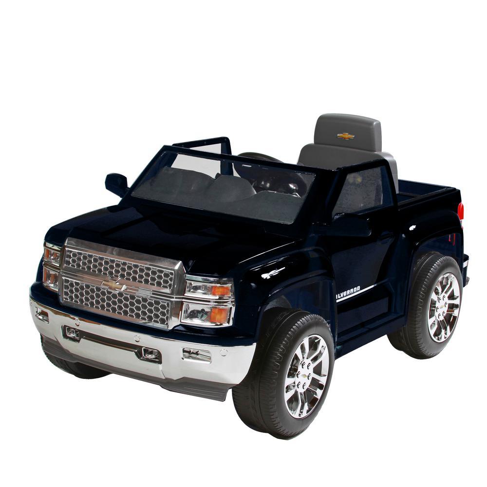 Chevy Silverado 6-Volt Battery Ride-On Vehicle