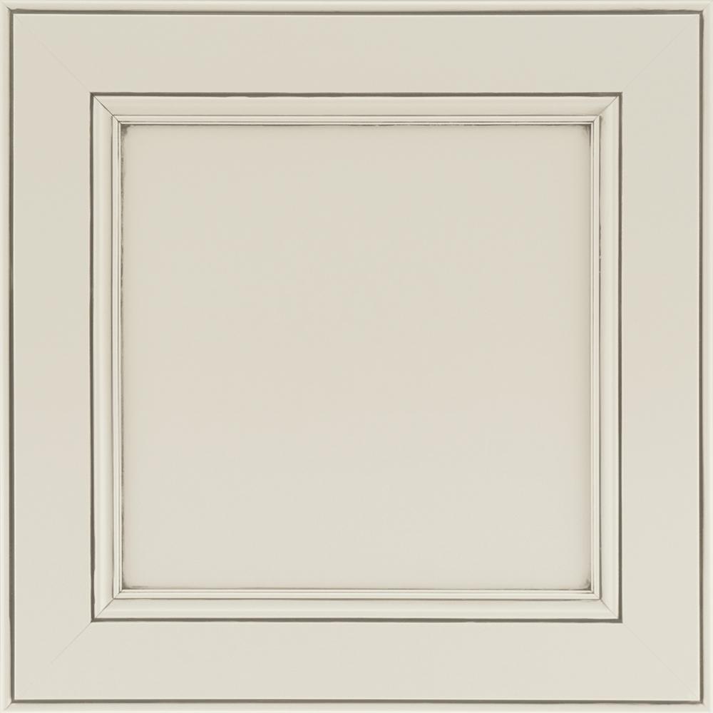 14-9/16 x 14-1/2 in. Cabinet Door Sample in MacArthur Painted Ember Glaze