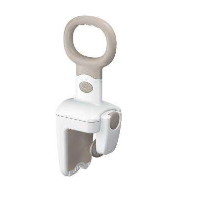 Home Care 16-1/2 in. Securelock Tub Grip in White