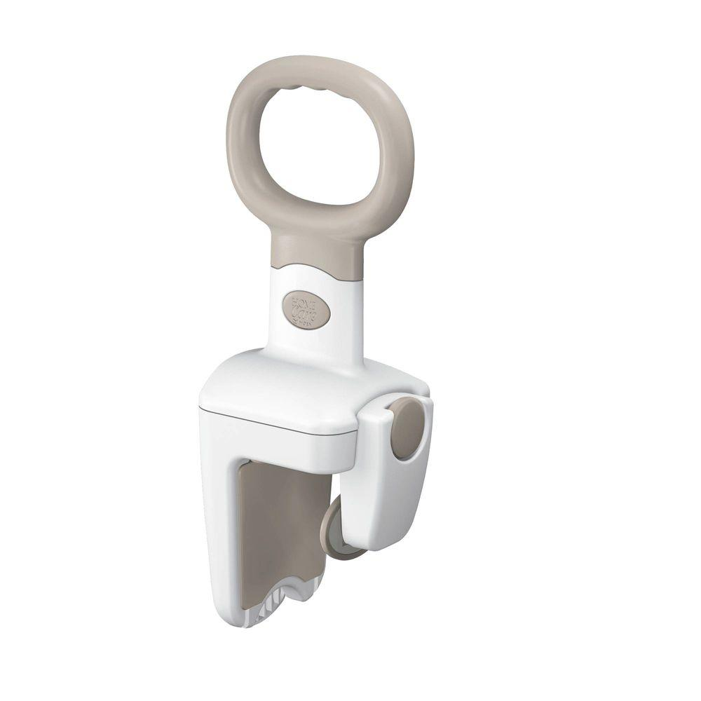 MOEN Home Care 16-1/2 in. Securelock Tub Grip in White