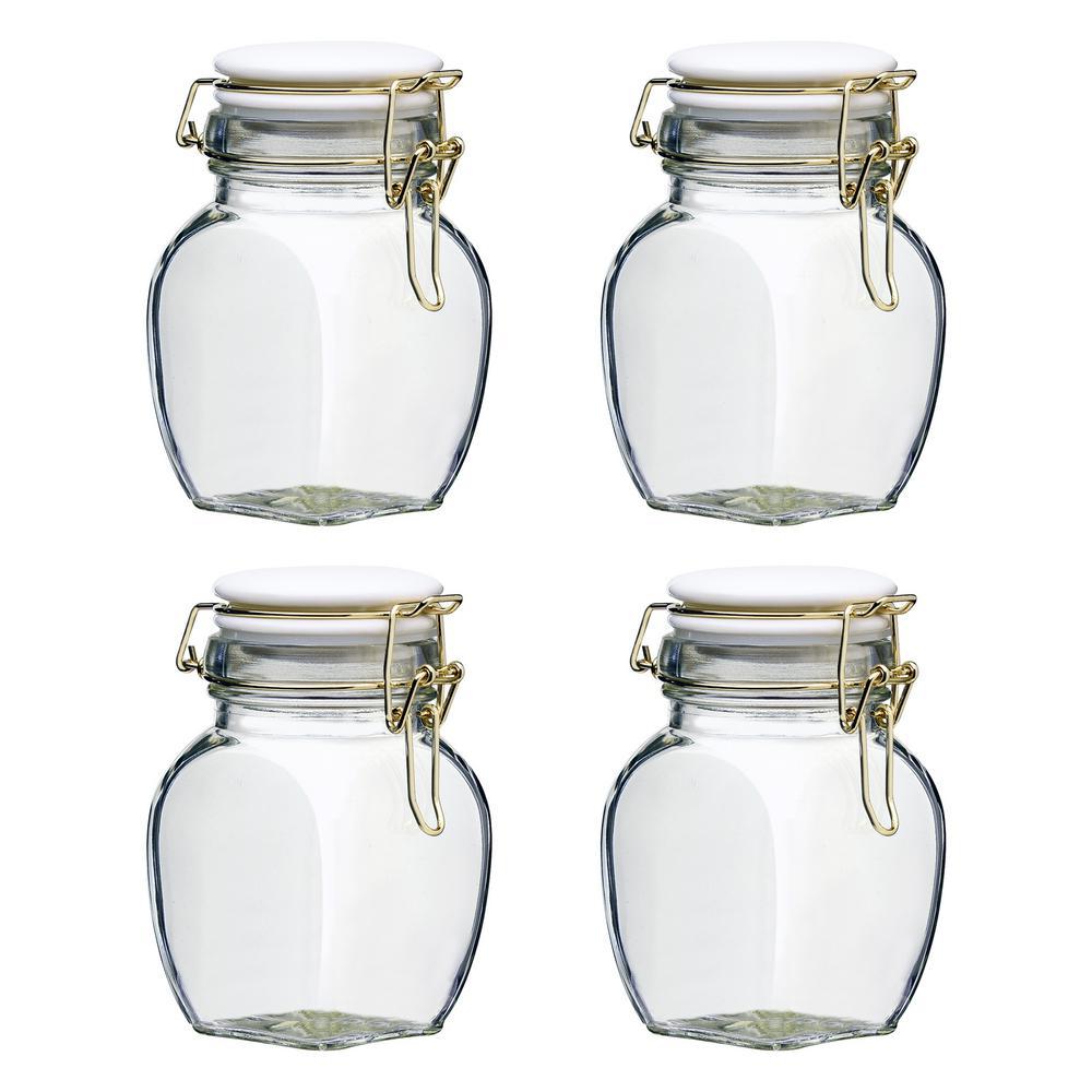 Bath Sets & Kits Able Body Collection Health & Beauty Vintage Jar 4pc Set