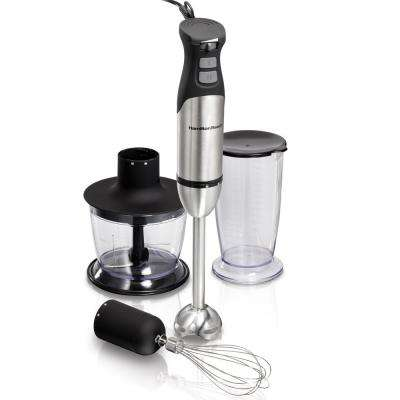 Variable Speed Hand Blender with Turbo Boost Power