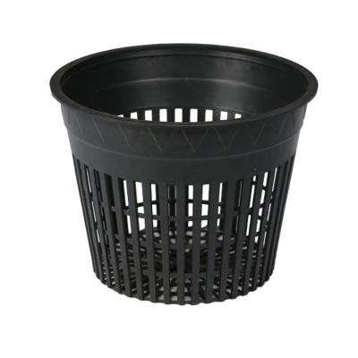 5 in. Round Cup Net Pot Set with Slotted Plastic Mesh (24-Pack)