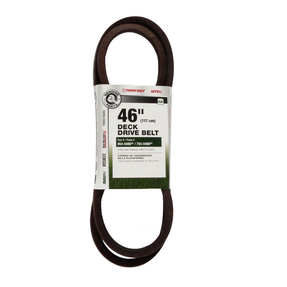 Power Care Drive Belt for MTD Edger-H-MTD-9E - The Home Depot
