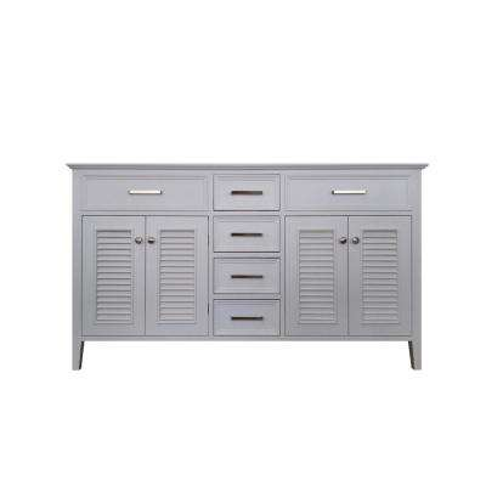 Kensington 61 in. Bath Vanity Cabinet Only in White