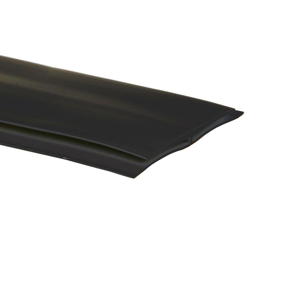 G-Floor 25 ft. Length Midnight Black Mat Center Trim
