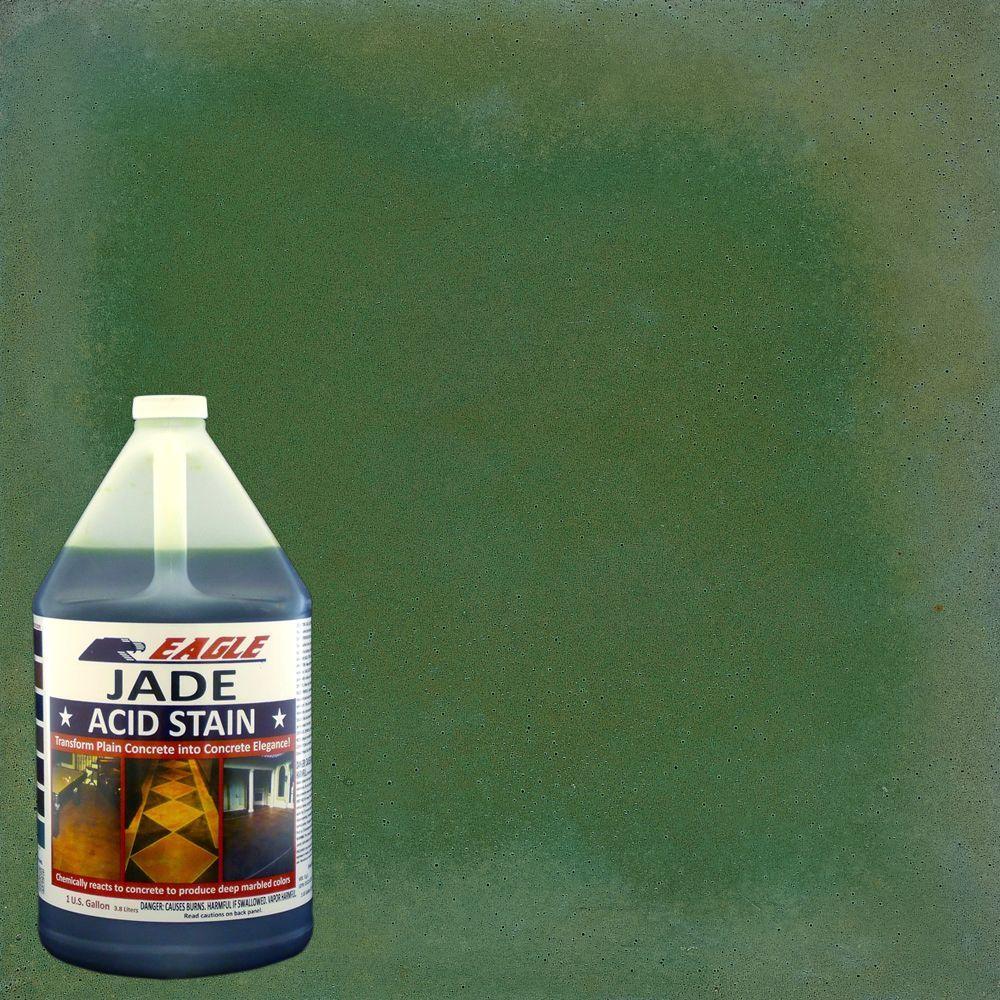 Eagle 1 gal. Jade Concrete Acid Stain