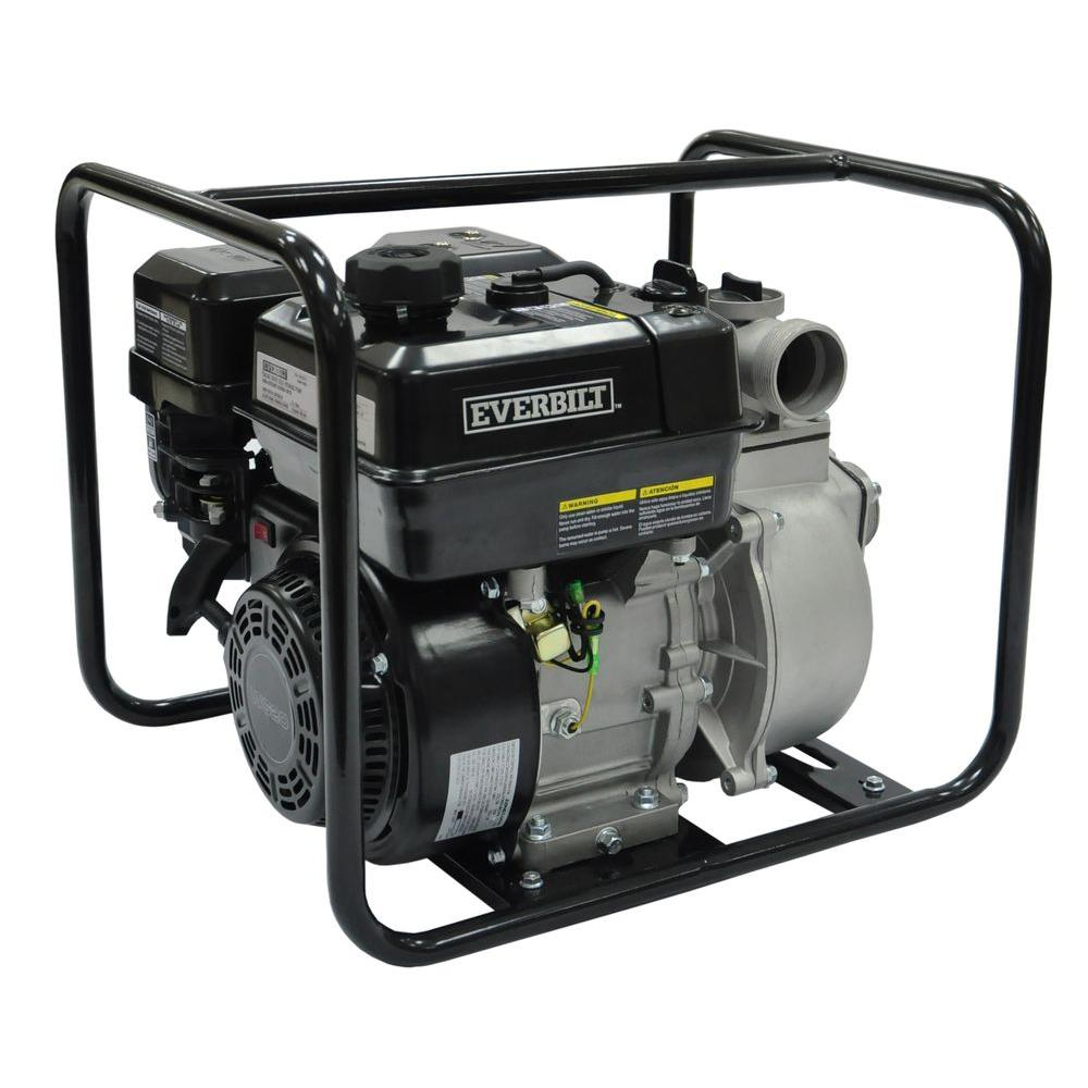 5.5 HP Gas-Powered Utility Pump