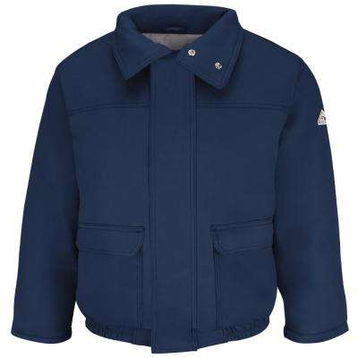 EXCEL FR ComforTouch Men's 3X-Large Navy Insulated Bomber Jacket