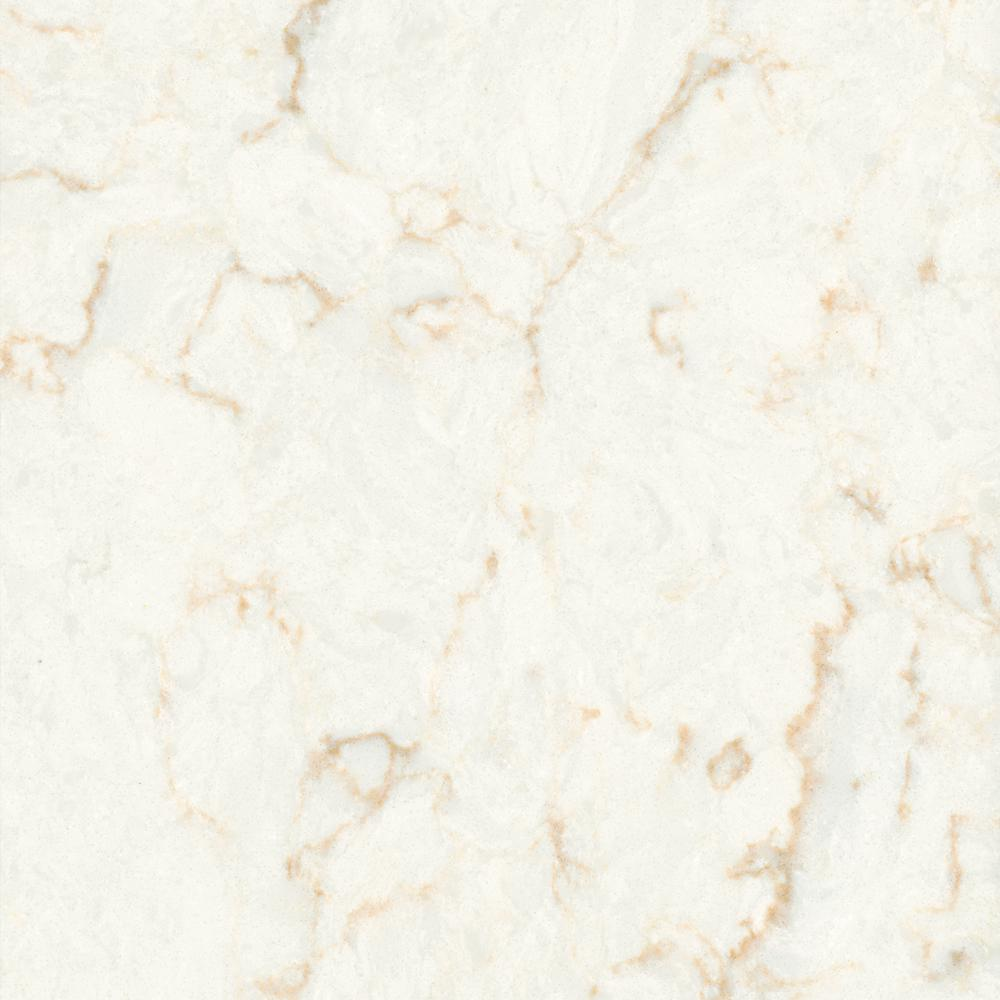 LG Hausys Viatera 3 In. X 3 In. Quartz Countertop Sample In Clarino