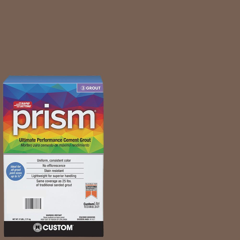 Custom Building Products Prism #52 Tobacco Brown 17 lb. Grout