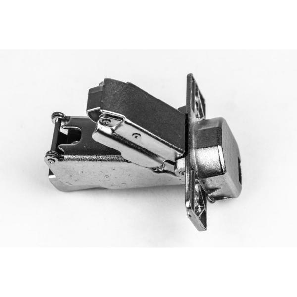 165-Degree 35 mm Full Overlay Soft Close Frameless Cabinet Hinges with Installation Screws (5-Pair)