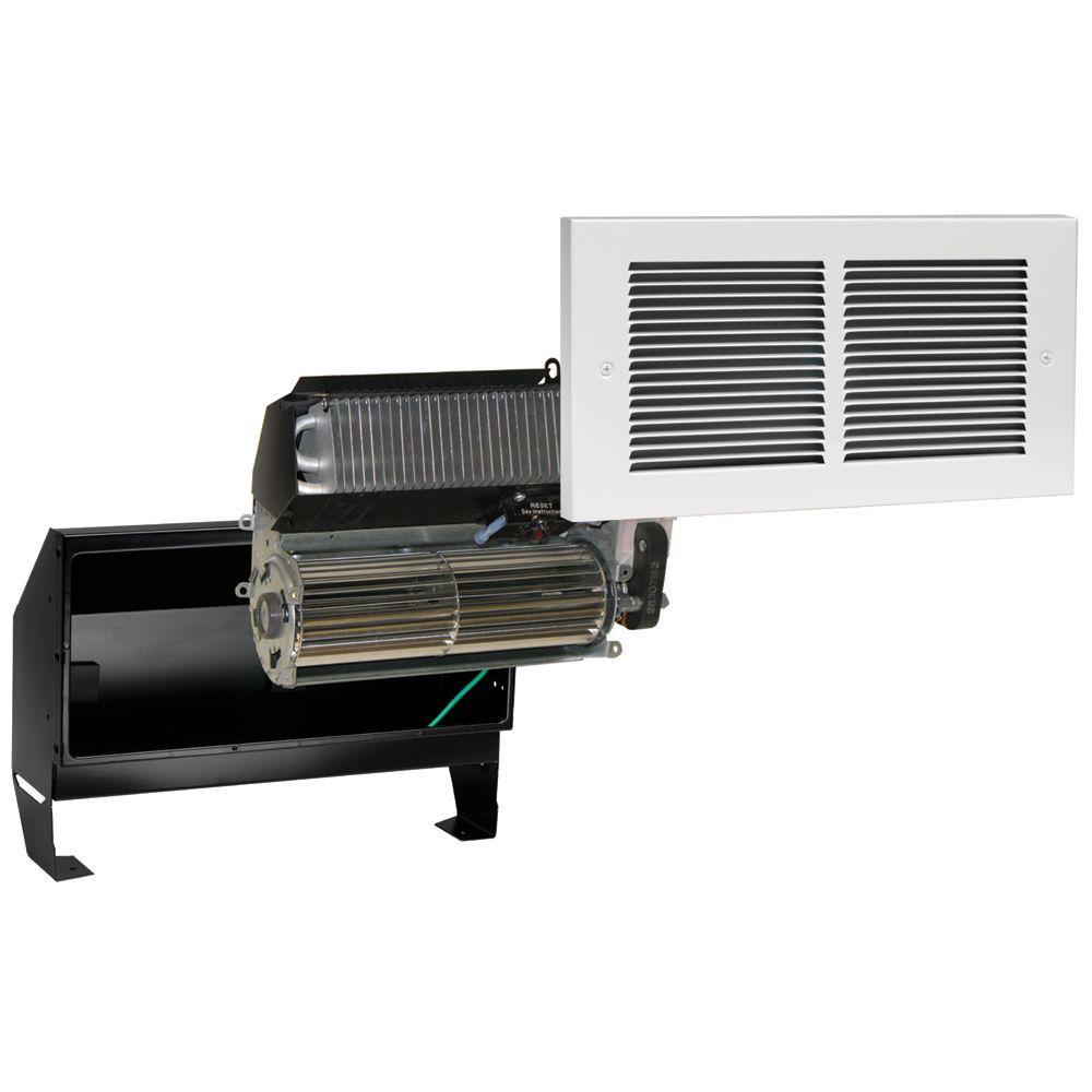 Register Multi-Watt 240-Volt In-Wall Fan-Forced Heater in White