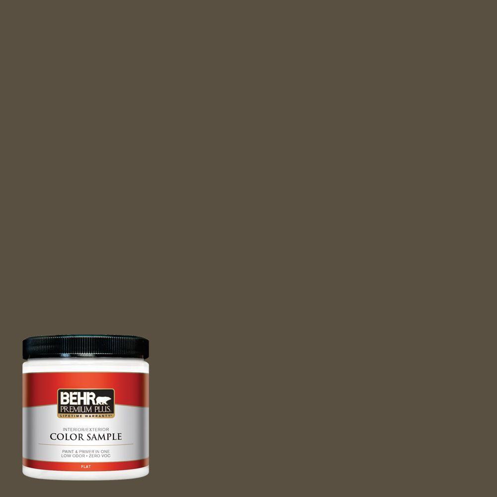 8 oz. #730D-7 Shadow Ridge Interior/Exterior Paint Sample