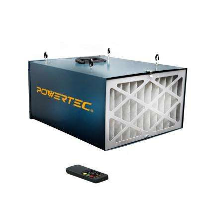 Remote Controlled 3-Speed Air Filtration System (300/350/400 CFM)