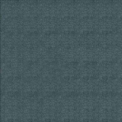 First Impressions Sky Grey Ribbed Texture 24 in. x 24 in. Carpet Tile (15 Tiles/Case)