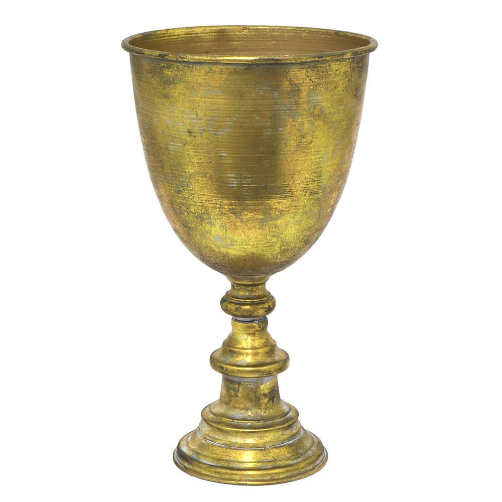 Metal Triumph Decorative Vase