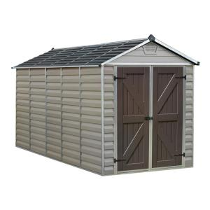 Palram 6 ft. x 12 ft. Tan SkyLight Shed by Palram