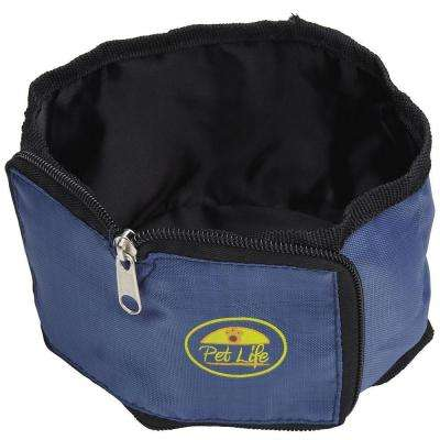 Blue Wallet Travel Pet Bowl