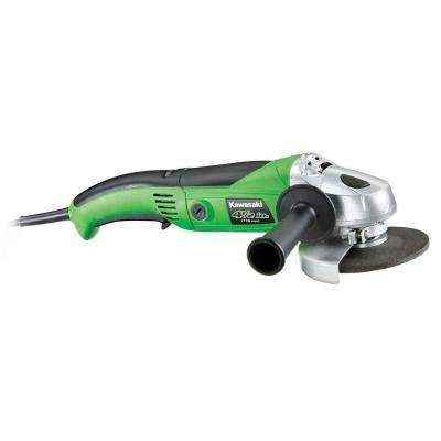 7.5-Amp 4.5 in. Variable Speed Long Handle Angle Grinder