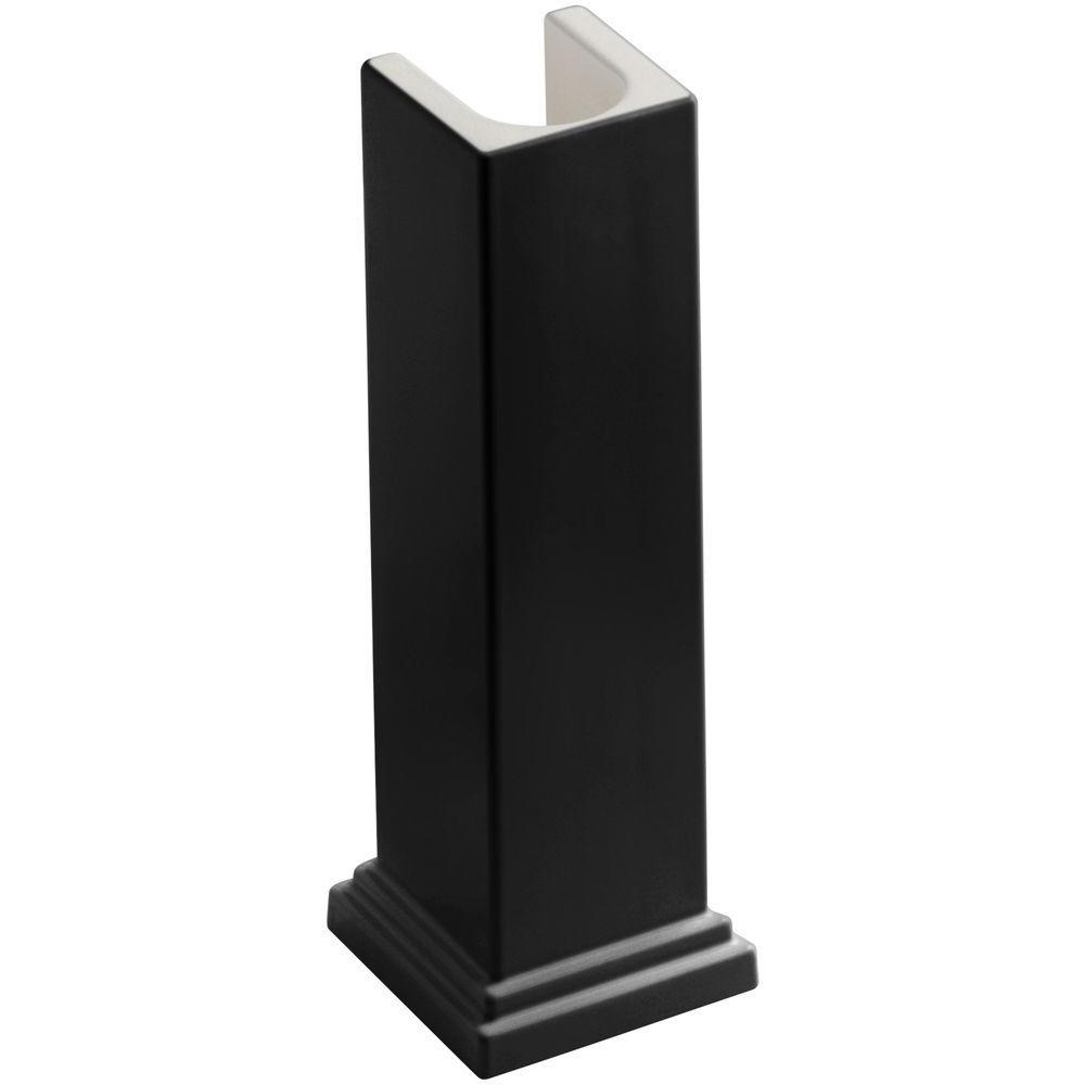 Tresham Pedestal in Black Black