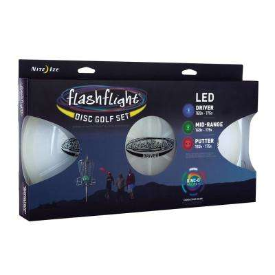 Flashflight LED Disc Golf Set in Disc-O Select