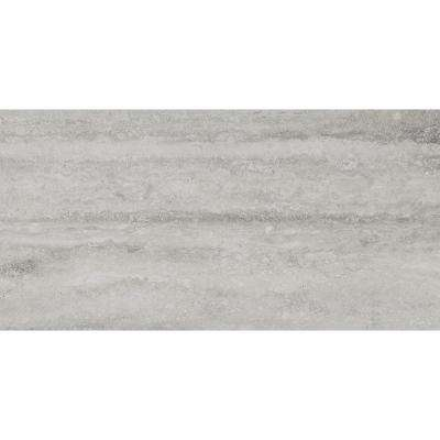 Trevi Gray 12 in. x 24 in. Glazed Porcelain Floor and Wall Tile (16 sq. ft. / case)