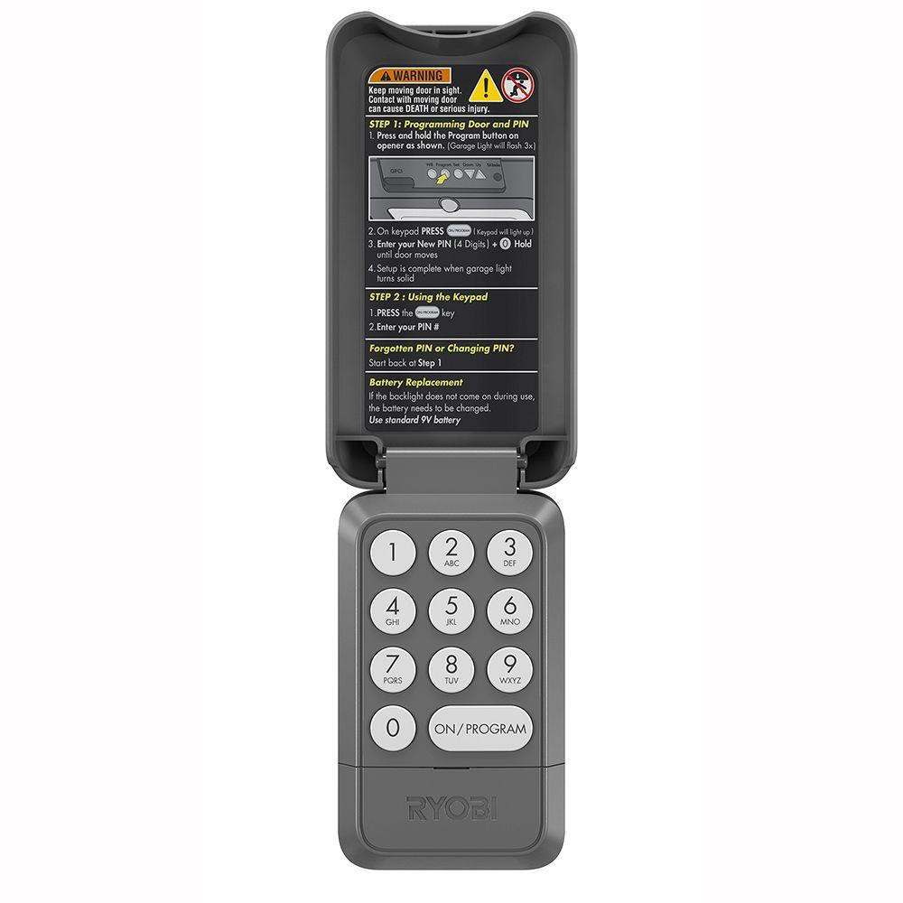 Garage Door Keypad Garage Door Opener Remotes Keypads