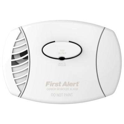 Plug-In Carbon Monoxide Detector Alarm with Battery Backup