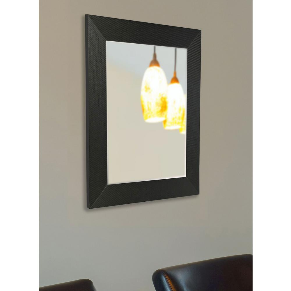 Howard elliott collection 36 in x 24 in oval frameless for 4 x 5 wall mirror