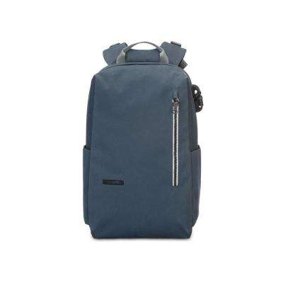 Intasafe 18 in. Navy Backpack with Laptop Compartment