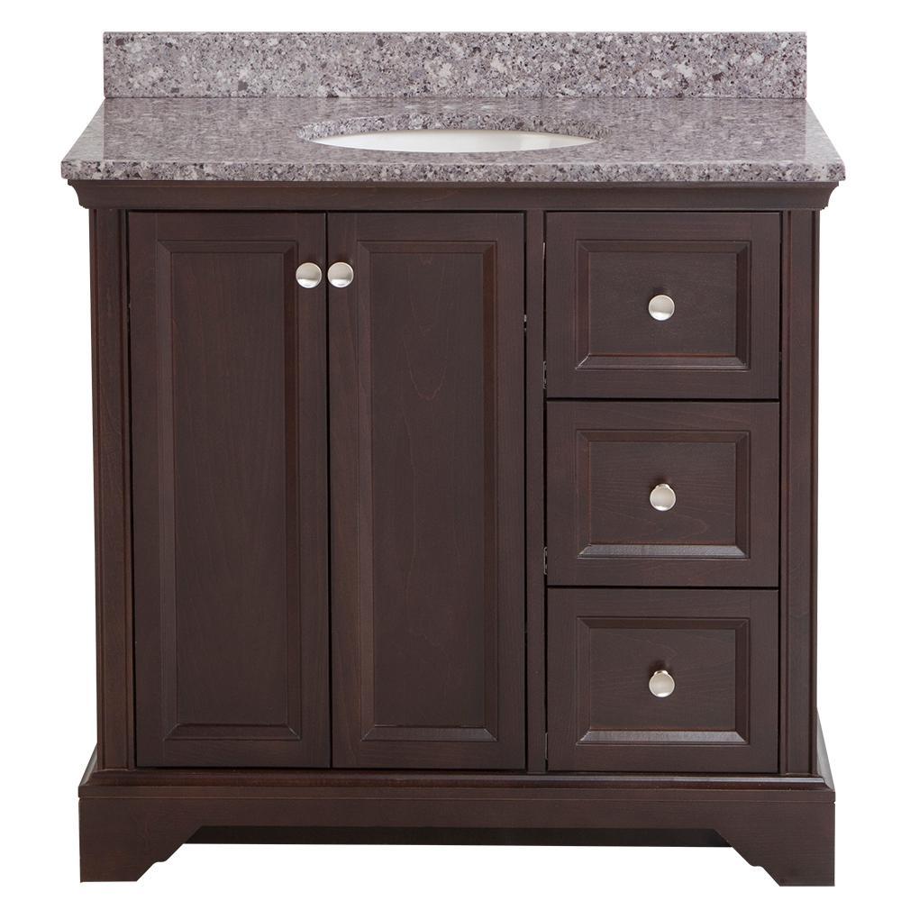 Home Decorators Collection Stratfield 37 In W X 22 D Bath Vanity