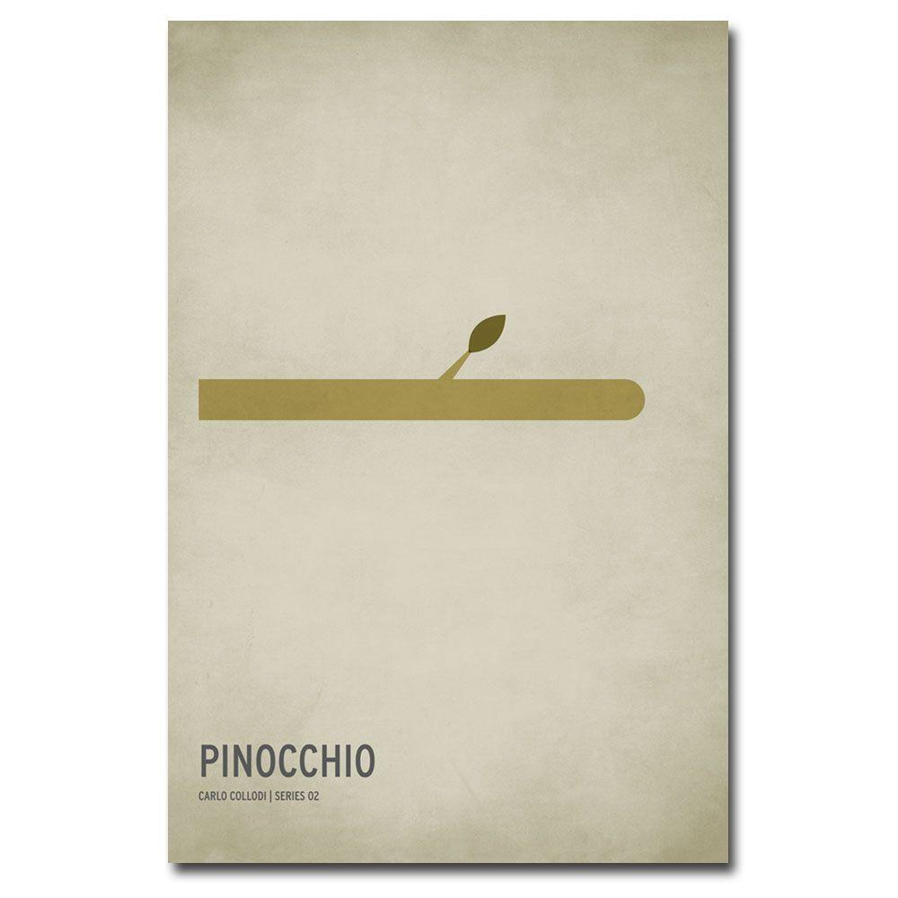 22 in. x 32 in. Pinocchio Canvas Art