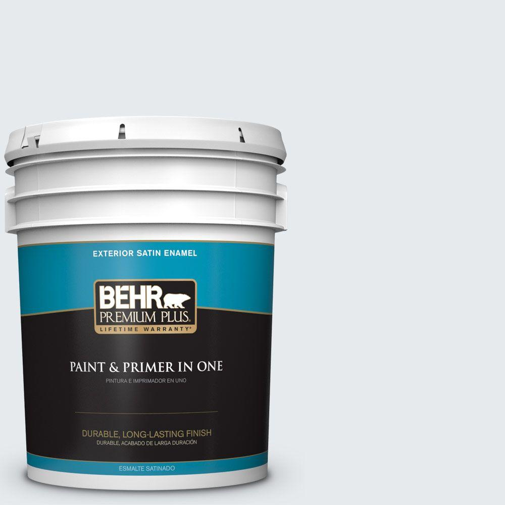 5-gal. #740E-1 Dream Catcher Satin Enamel Exterior Paint