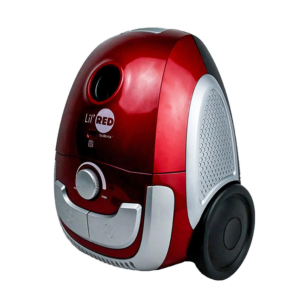 Atrix International LilHEPA Canister Vacuum Cleaner in Red