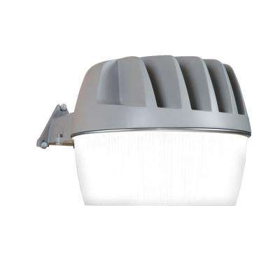 Bronze Outdoor Integrated LED Security Area Light with Built-in Dusk to Dawn Photocell, 3300 Lumens, 5000K Daylight