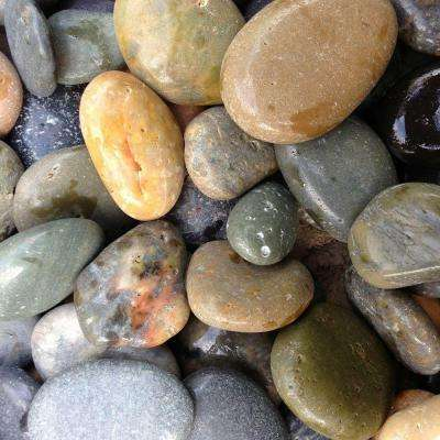 0.25 cu. ft. 1/2 in. - 1 in. Mixed Mexican Beach Polished Pebble