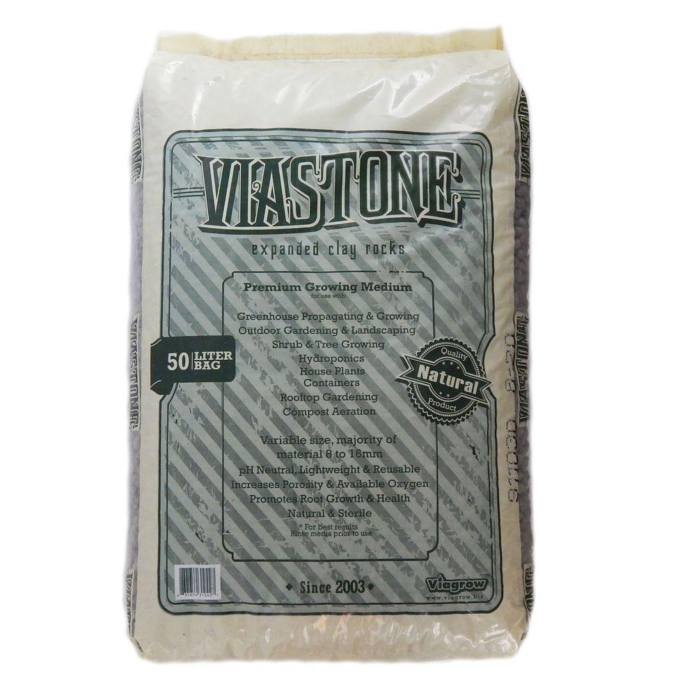 Viagrow 50 l ViaStone Hydroponic Gardening Medium Grow Rock