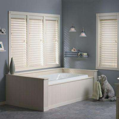 2 1/2 in. Faux Wood Blinds