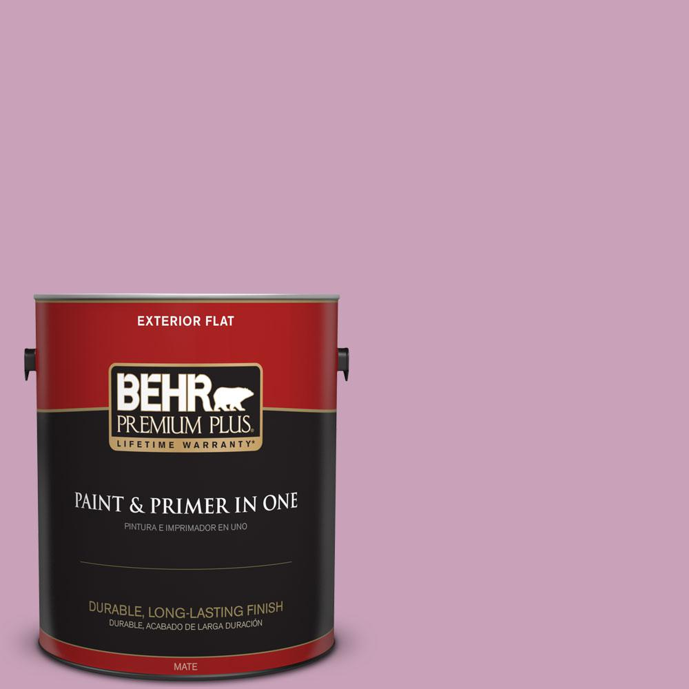 1-gal. #690D-4 Taste of Berry Flat Exterior Paint