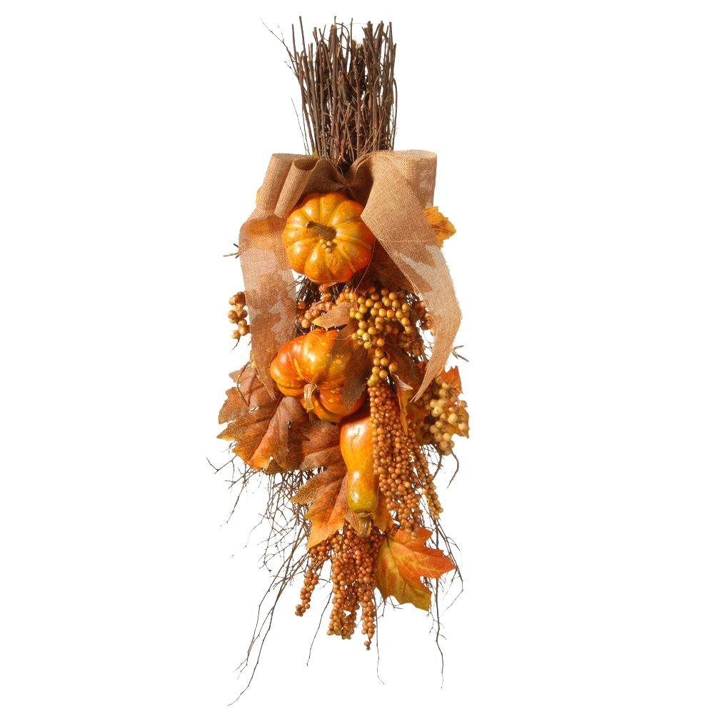 Harvest Accessories 28 in. Teardrop with Pumpkins