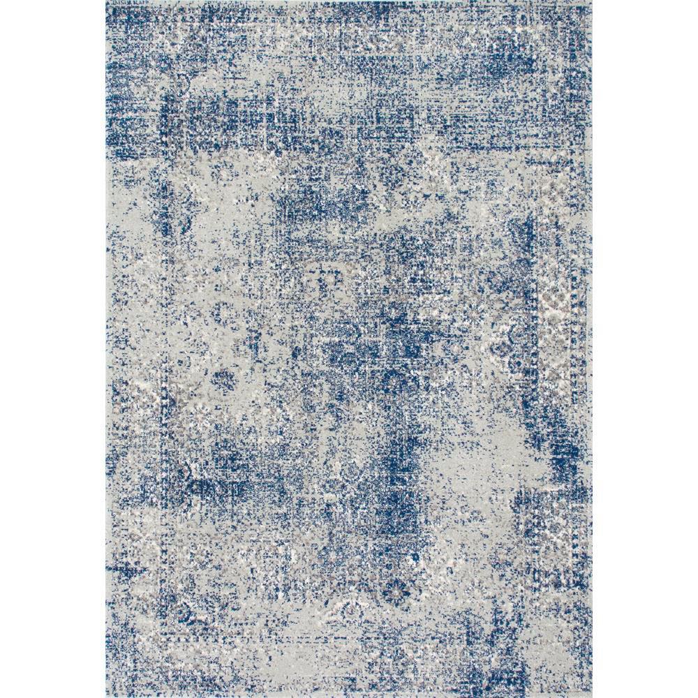 Nuloom Vintage Willena Blue 7 Ft X 9 Area Rug