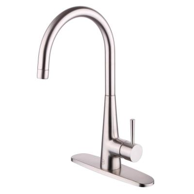 Hilo Single Handle Standard Kitchen Faucet in Brushed Nickel