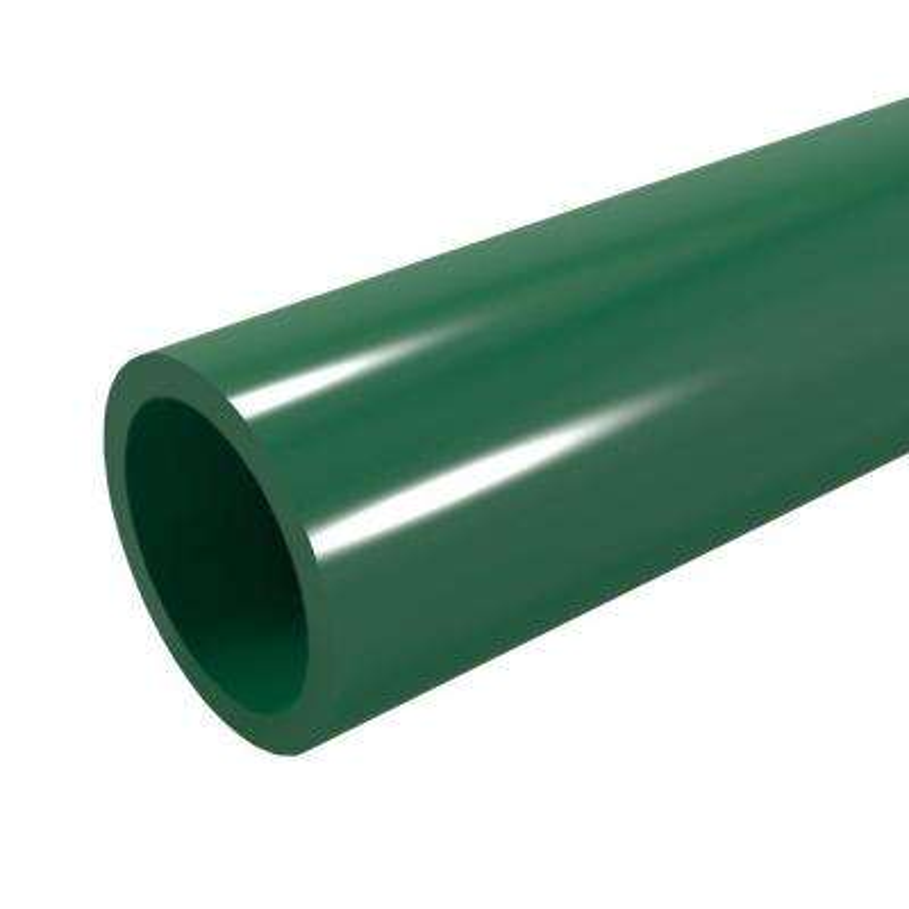 1-1/4 in. x 5 ft. Furniture Grade Sch. 40 PVC Pipe in Green