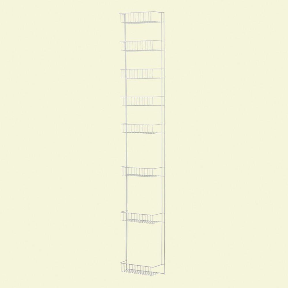 ClosetMaid 72 in. x 12 9/16 in. 8-Tier Ventilated Storage Rack