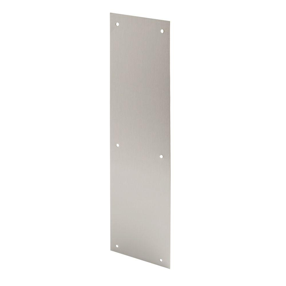 4 In X 16 Stainless Door Push Plate