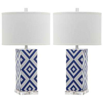 Navy Table Lamp (Set Of 2)